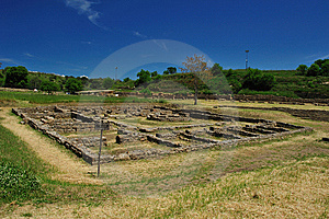 Archaeological Site Of Morgantina Royalty Free Stock Photo - Image: 9357105