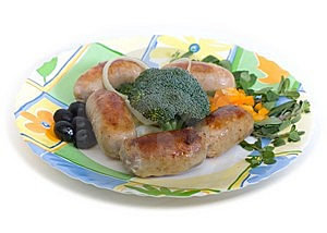 Small Sausages Royalty Free Stock Photography - Image: 9358657