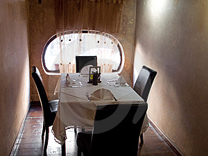 Restaurant Table Stock Photos - Image: 9358743