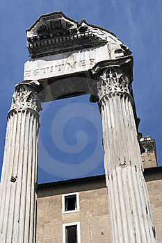 Forum Romanum Stock Photography - Image: 9358752
