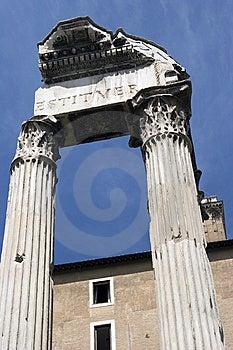 Forum Romanum Stock Photography - Image: 9358752