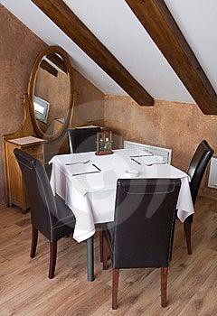 Restaurant Table Stock Photo - Image: 9358770