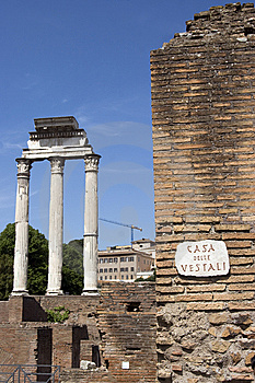 Forum Romanum Stock Images - Image: 9358784