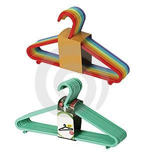 Bundles Hanger Royalty Free Stock Photos - Image: 9359258