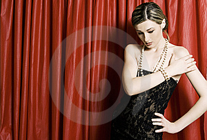 Fashion Model Stock Image - Image: 9360211