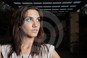 Headshot Of A Beautiful Young Woman Royalty Free Stock Photo - Image: 9367035