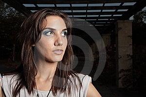 Headshot Of A Beautiful Young Woman Royalty Free Stock Photo - Image: 9367035