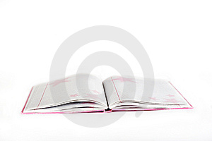 Notebook With Pink Covers Royalty Free Stock Photos - Image: 9367138