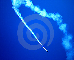 Stunt Pilot Plane Stock Images - Image: 9371454