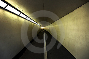 Pedestrian And Cycle Tunnel Royalty Free Stock Photos - Image: 9376568