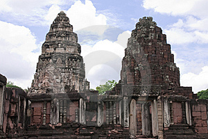 Ancient City In Thailand Royalty Free Stock Photos - Image: 9377978