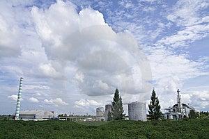 Ethanol Factory Stock Image - Image: 9380151