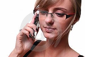 White Beautiful Blond Business Woman Stock Photography - Image: 9387932