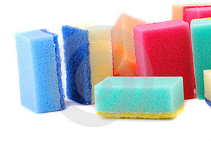 Small Sponge Royalty Free Stock Image - Image: 9393056
