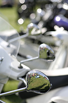 Scooters. Stock Photo - Image: 9393850