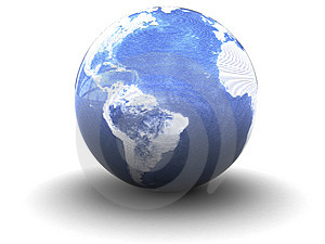 Abstract Earth Globe Royalty Free Stock Photos - Image: 9394298