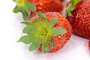 Group Of Many Ripe Strawberries . Close Up Stock Image - Image: 9395591