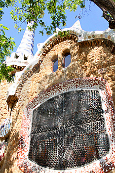 Park Guell, Barcelona, Spain Stock Images - Image: 9395964