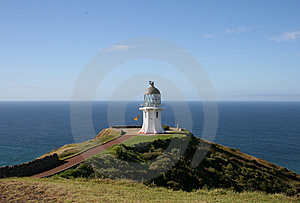 Cape Reinga Lighthouse Stock Photography - Image: 9396132