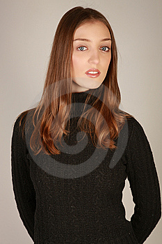 Casual Woman Stock Photo - Image: 9396990