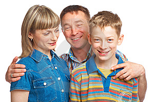 Mother, Father And Son Stock Photo - Image: 9399160