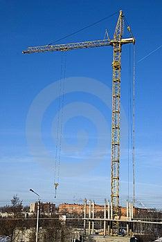 Crane Stock Image - Image: 9399761