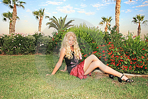 Pretty Blond Girl Royalty Free Stock Photo - Image: 9399805