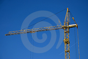 Crane Stock Photo - Image: 9399810