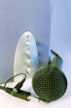 Plug And Sing Or Listen Stock Images - Image: 944894