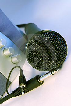 Plug And Sing Or Listen Stock Images - Image: 944924