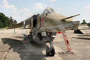 MIG 23 Royalty Free Stock Photos - Image: 945738