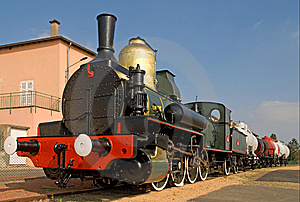 Steam Train 1 Royalty Free Stock Photo - Image: 9400415