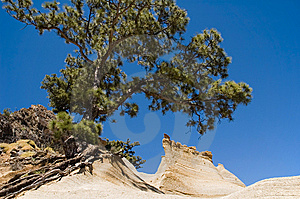 A Sandstone Peak Royalty Free Stock Photo - Image: 9401745