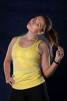 The Sports Girl Stock Photography - Image: 9403152