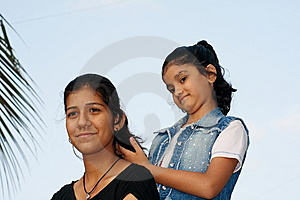 Making Of A Hair-style Stock Image - Image: 9403971