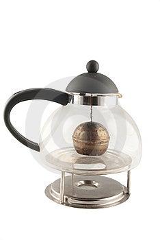Glas Teapot Stock Photo - Image: 9406110
