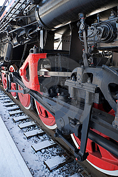 Fragment Of A Tank Engine Stock Image - Image: 9406121