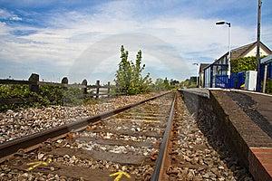 Devon Railway Stock Image - Image: 9406641
