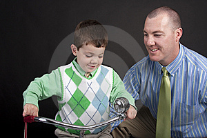 New Tricycle Stock Photo - Image: 9408280