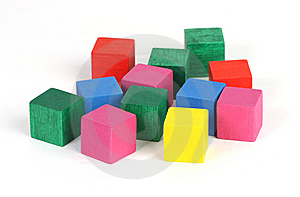 Colored Blocks Royalty Free Stock Photography - Image: 9409277