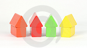 Colored Blocks Royalty Free Stock Photos - Image: 9409438