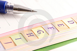 Organiser Royalty Free Stock Photos - Image: 9409468