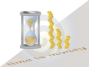 Time Is Money Stock Images - Image: 9412444