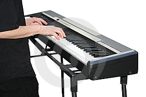 Keyboard Player Stock Images - Image: 9413534