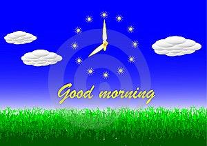 Morning Greeting Stock Image - Image: 9414191