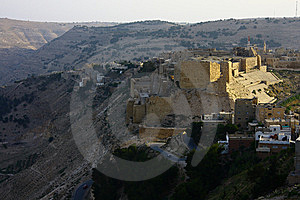 Al Karak Castle Stock Photos - Image: 9414233