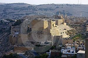 Al Karak Castle Royalty Free Stock Photography - Image: 9414297