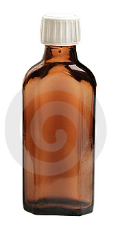 Medical Brown Vial Stock Photography - Image: 9414852