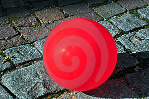 Red Ballon Royalty Free Stock Image - Image: 9415256