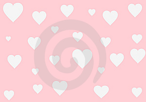 Blurred Heart's Card Stock Photos - Image: 9416533